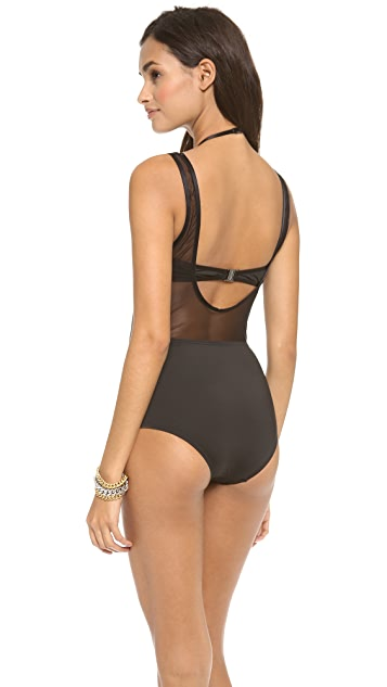 Zimmermann Filigree Double Layer One Piece Swimsuit