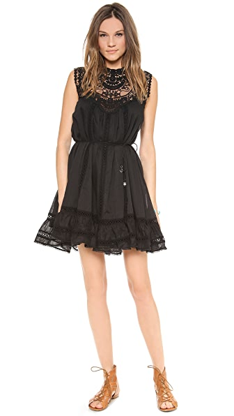 Zimmermann Filigree Lace Bib Dress