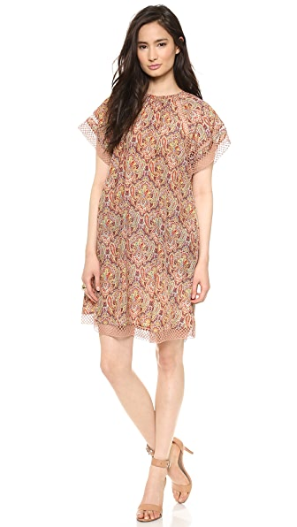Zimmermann Sundown Paisley Cover Up Dress