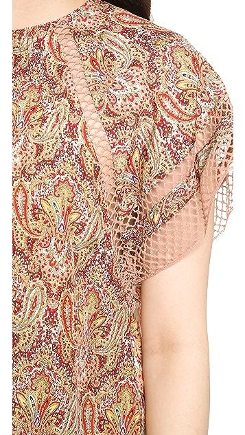 Zimmermann Sundown Paisley Cover Up Dress