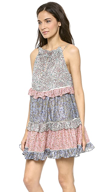 Zimmermann Roamer Cupcake Cover Up Dress