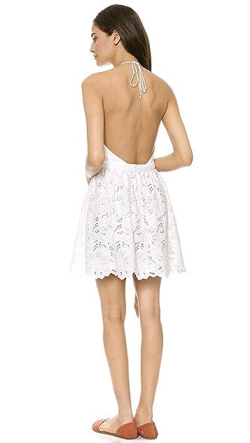 Zimmermann Roamer Halter Cover Up Dress