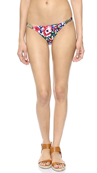 Zimmermann Low Link Bikini Bottoms