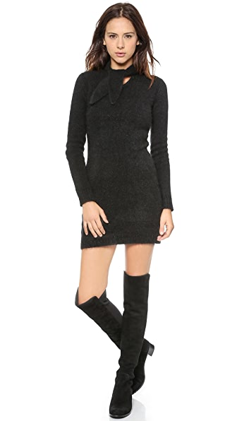 Zimmermann Racer Floss Knit Mini Dress