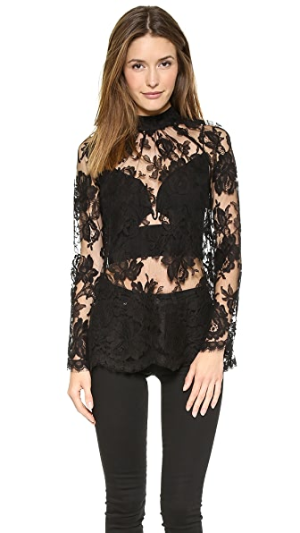 Zimmermann Racer Lace Blouse