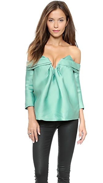 Zimmermann Tempo Off Shoulder Top