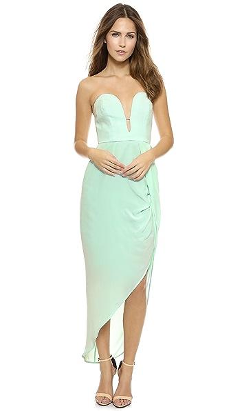 Zimmermann Silk Curve Long Dress