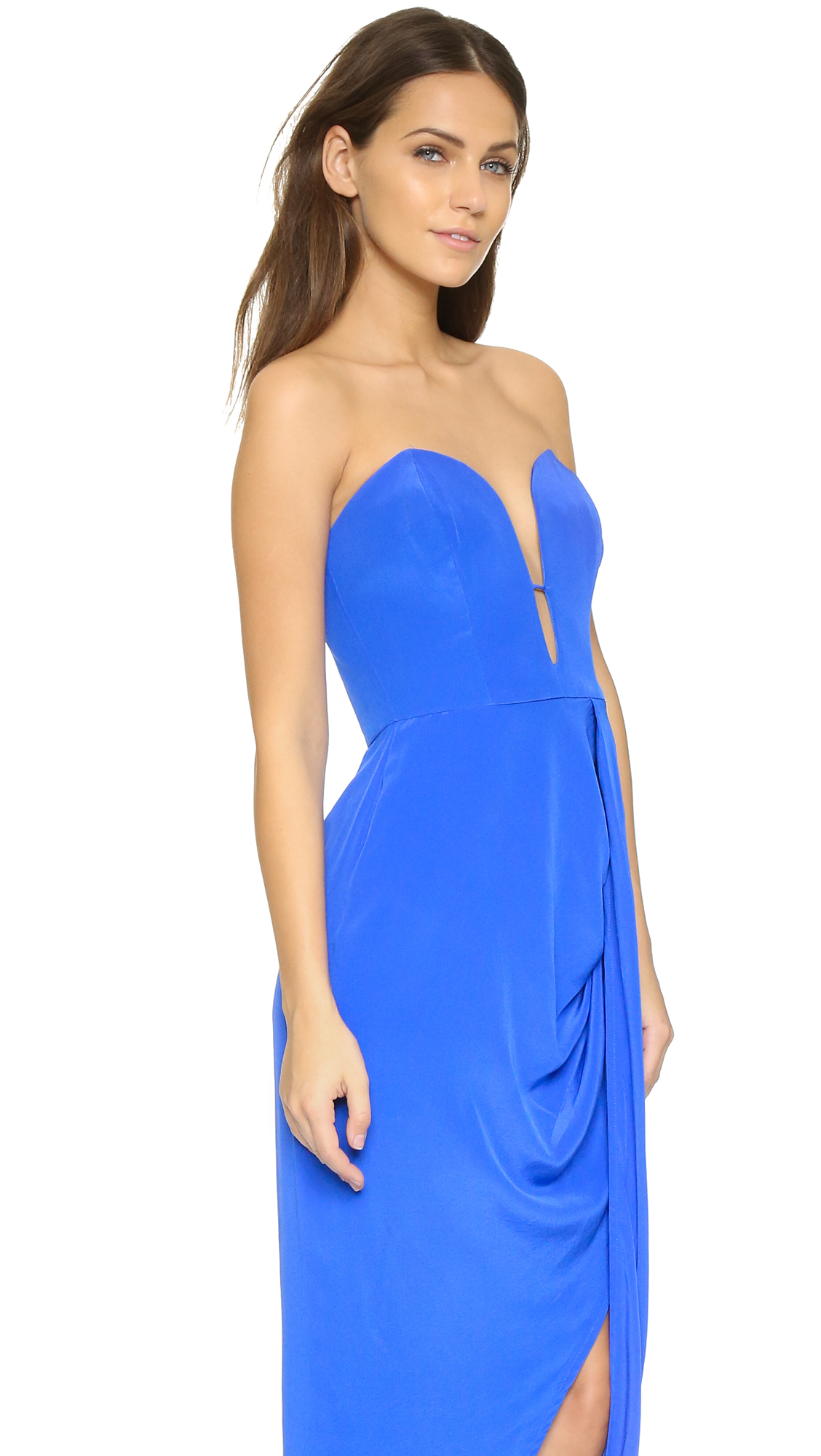 Zimmermann Silk Curve Long Dress Shopbop