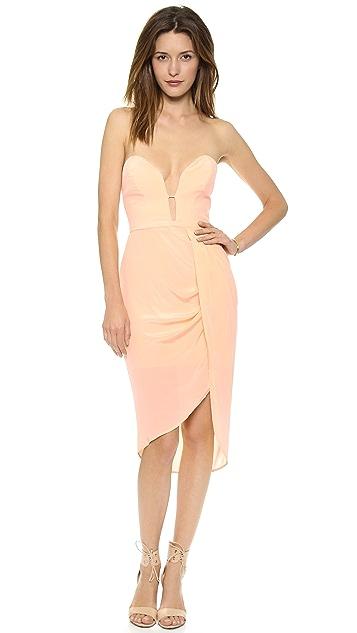 Zimmermann Silk Curve Bar Dress