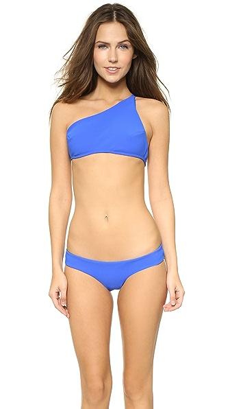 Zimmermann Hyper Bonded Asymmetrical Bikini