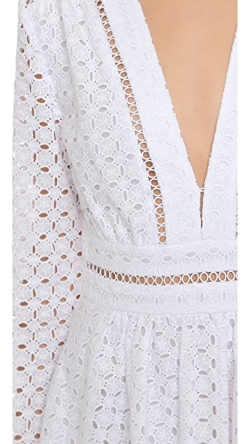 Zimmermann Ryker Broderie Dress