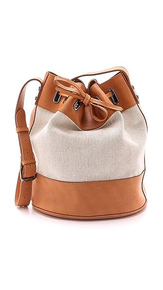 Zimmermann Drawstring Beach Bucket Bag