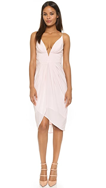 Zimmermann Silk V Tuck Dress
