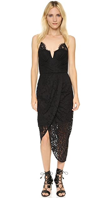 Zimmermann Arcadia Lace Underwire Dress