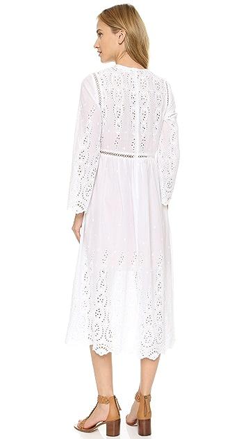 Zimmermann Broderie Split Dress