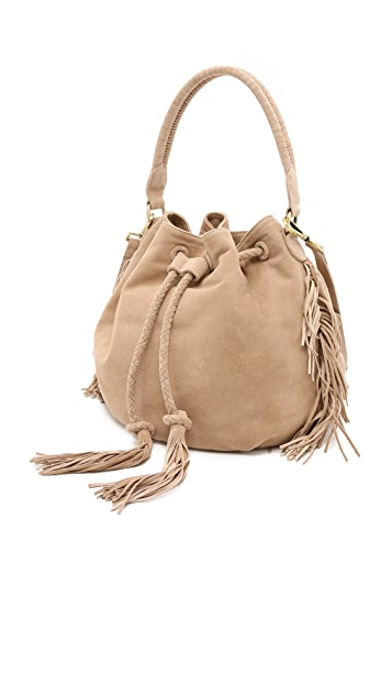 Zimmermann Suede Bucket Bag