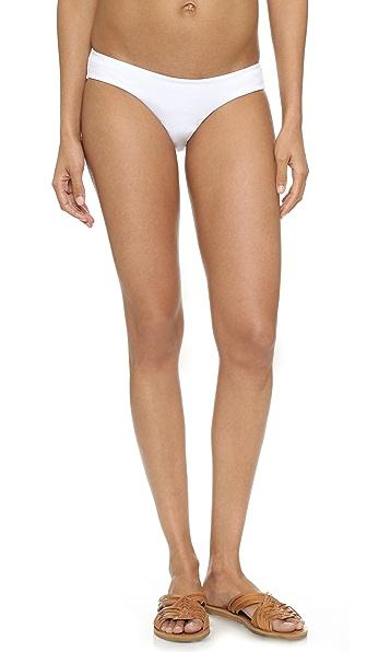 Zimmermann Flexi Bikini Bottoms In White
