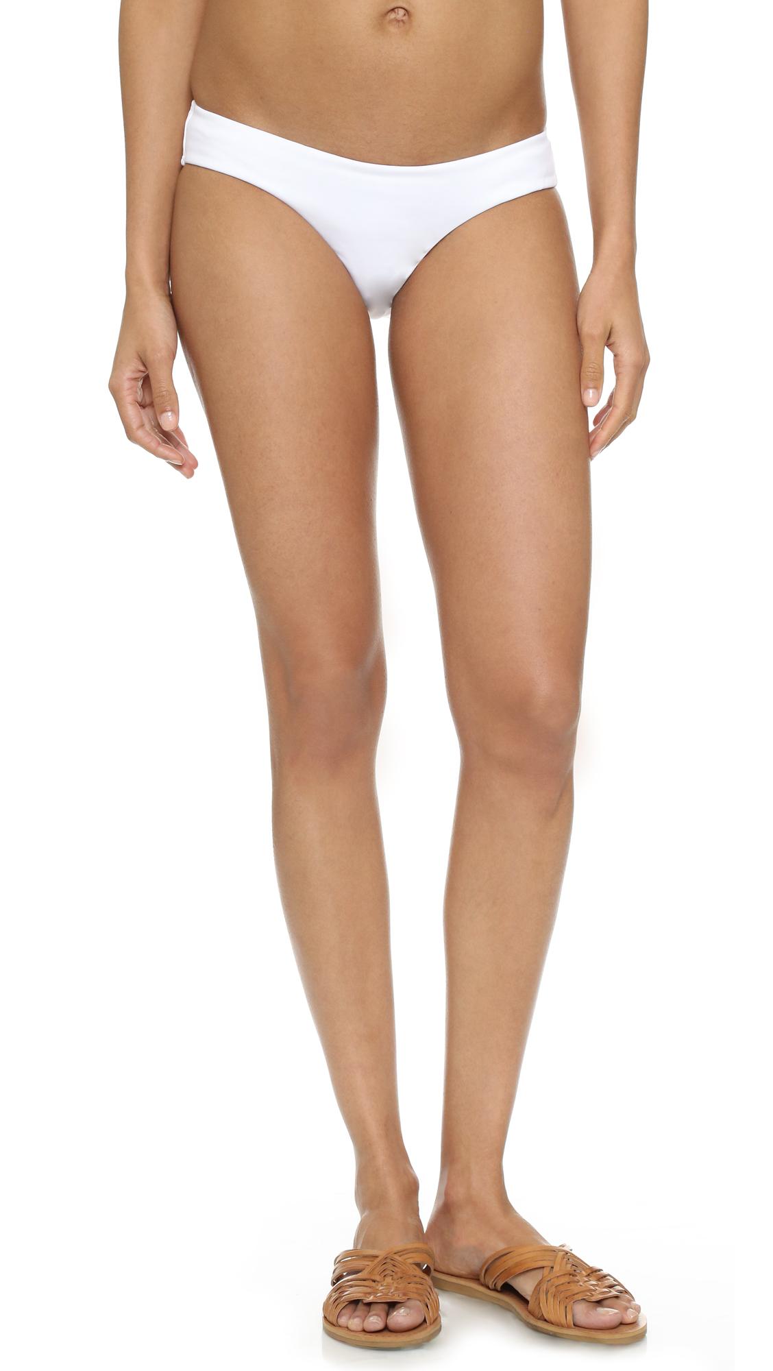Zimmermann Flexi Bikini Bottoms - White