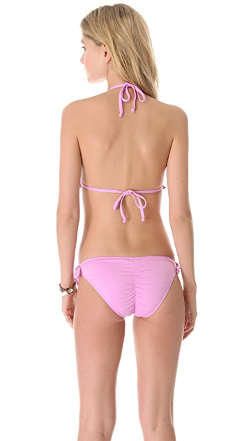 Zinke Electric Eel Triangle Bikini Top