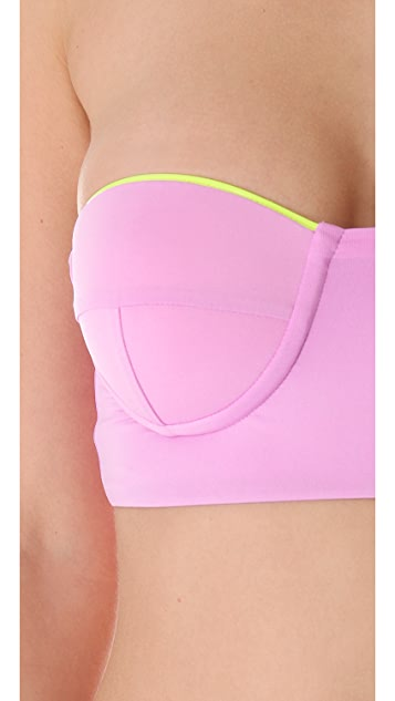 Zinke Katie Bustier Bandeau Bikini Top