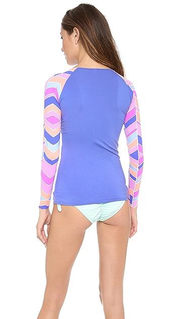 Zinke Ocean Blue Surf Shirt