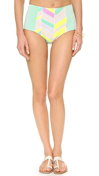 Zinke Starboard Brief Bikini Bottoms