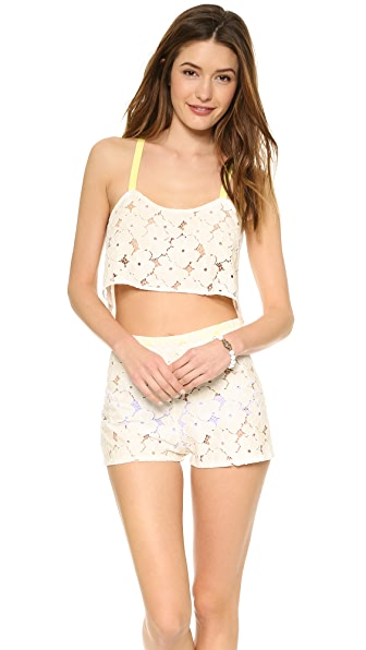 Zinke Lola Crop Cover Up Top