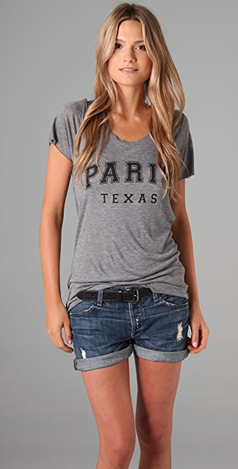 Zoe Karssen Paris, Texas Tee