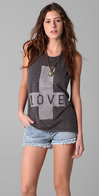 Zoe Karssen Love Sleeveless Tee