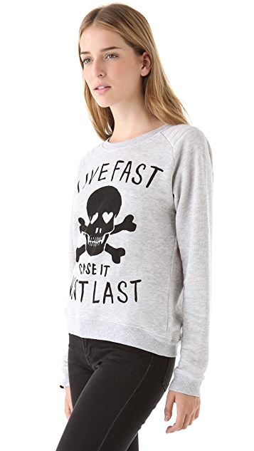 Zoe Karssen Live Fast Sweatshirt
