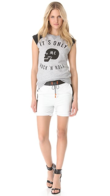 Zoe Karssen MC Rock-n-Roll Loose Fit Tee