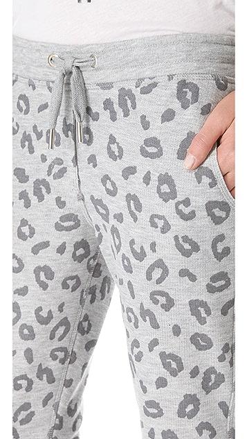 Zoe Karssen Leopard Allover Sweatpants
