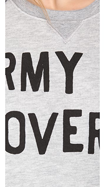 Zoe Karssen Army of Lovers Sweatshirt