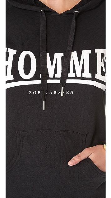 Zoe Karssen Homme Hoodie
