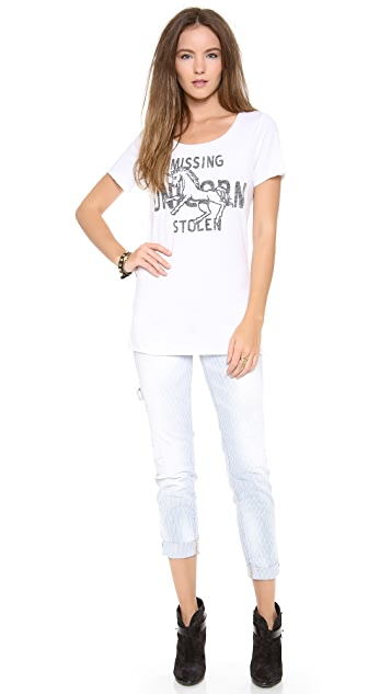 Zoe Karssen Missing Stolen Unicorn Tee