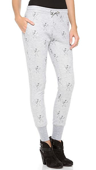 Zoe Karssen Skeleton All Over Sweatpants