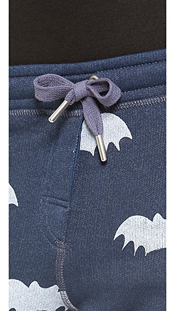 Zoe Karssen Bat Allover Sweatpants