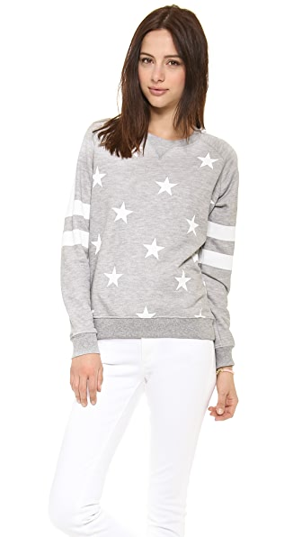 Zoe Karssen Stars All Over Sweatshirt