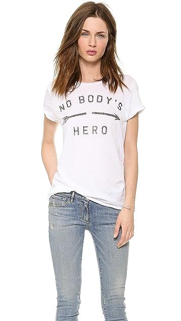 Zoe Karssen No Body's Hero Tee