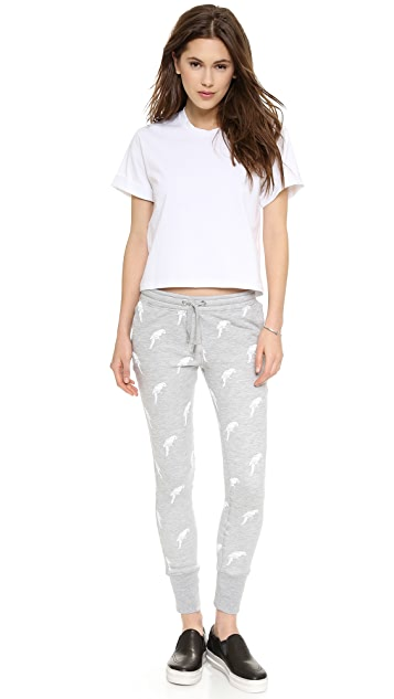 Zoe Karssen Parrot All Over Sweats