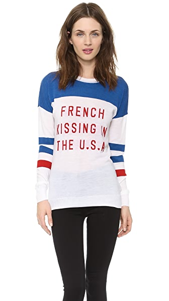 Zoe Karssen French Kissing Sweater