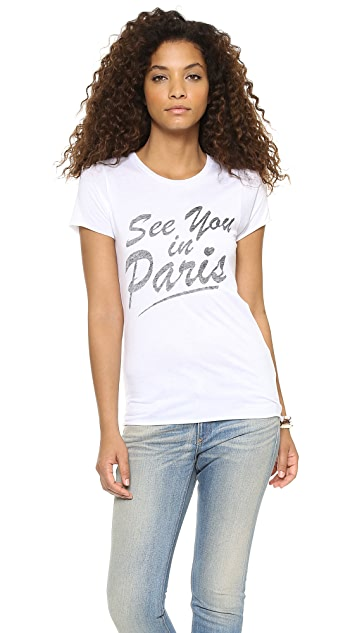 Zoe Karssen See You in Paris Tee