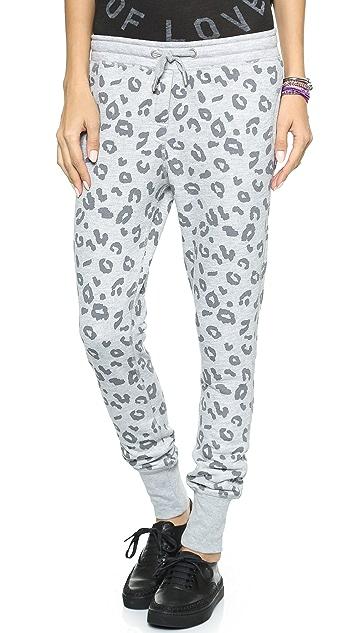 Zoe Karssen Leopard Sweatpants