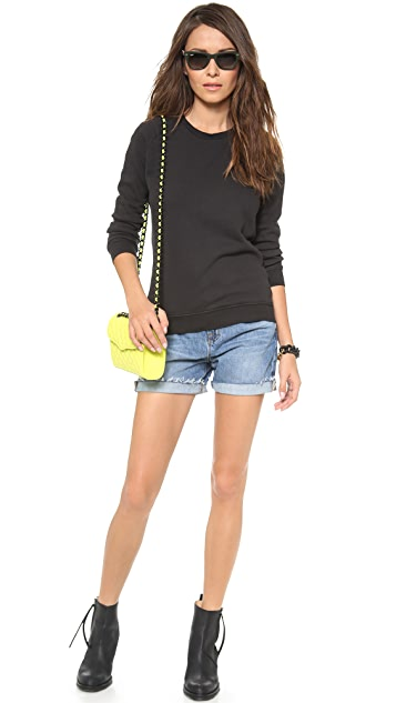 Zoe Karssen Basic Loose Fit Sweatshirt