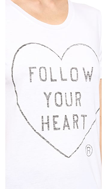 Zoe Karssen Follow Your Heart Tee