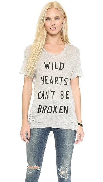 Zoe Karssen Wild Hearts Boyfriend Tee