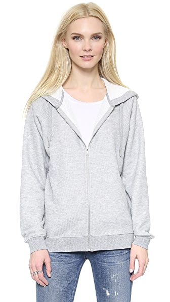 Zoe Karssen Zip Through Hoodie