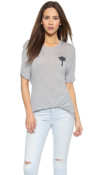 Zoe Karssen Palm Tree Tee