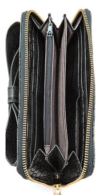 ZAC Zac Posen Shirley Bracelet Zip Wallet