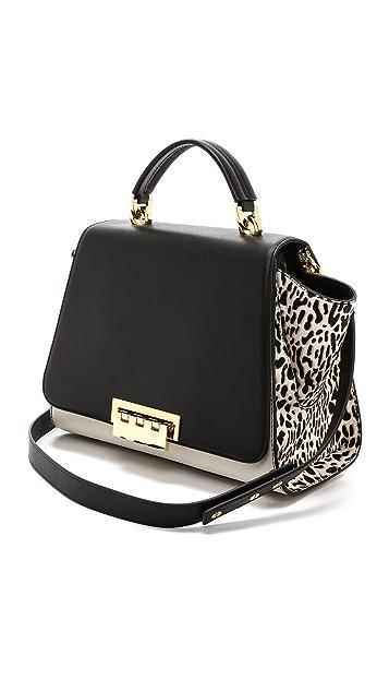 ZAC Zac Posen Leopard Eartha Soft Bag